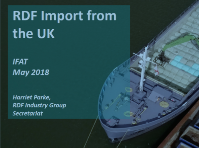 RDF Import from the UK - IFAT - May 2018